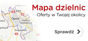 Mapa nieruchomości w Opolu